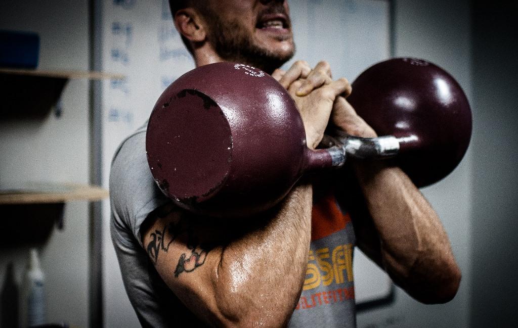 trening siłowy z kettlebell